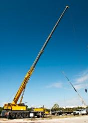 HVAC Mobile Crane