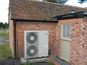 Air to Water Heat Pump Fans
